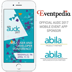 Eventpedia Sponsors AUDC 2017 Event App