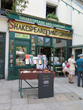 Famous bookstores are among the many stops of literary renown that the small group of writers tours as part of the Left Bank Writers Retreat in Paris, France, June 11 – 16, 2017.