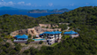 Aerial View of Falcon's Nest Villa on Peter Island