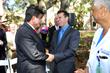 Dr. Kiran Patel and Tony LaForgia, Executive Director, Florida Hospital Carrollwood Foundation