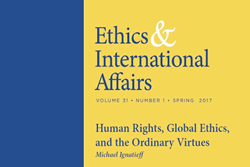 Ethics & International Affairs Journal, Spring 2017 Issue