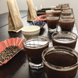Crimson Cup coffee cupping