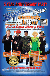 Sapphire Classic Comedy Hour 5-Year Anniversary Party