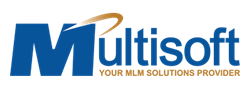 MultiSoft Corporation Logo, MLM Software, Network Marketing Software