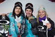 Monster Energy's Stale Sandbech Takes Silver, Sven Thorgren Takes Gold and Jamie Anderson Takes Silver in Men's and Women's Snowboard Slopestyle at X Games Norway 2017