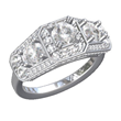 Diamond Ring Created on Shaper. View 2