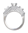 Diamond Ring Created on Shaper. View 3