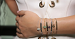 Charity bracelet designed by YouTube star Carli Bybel for WAH Foundation