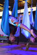 AntiGravity Aerial Yoga at Swet Studio, Boston