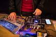 DJ LeahV at Swet Studio, Boston