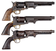 Trifecta of Dance Confederate Revolvers.
