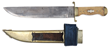 Lot 1247:  Rare, Spectacular, Massive and Most Recently Discovered Henry Schively Bowie Knife, 50,000-100,000.