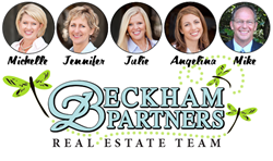 Beckham Partners Real Estate Team: Michelle, Jennifer, Julie, Angelina and Mike