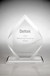 Deltek Marketing Excellence Award