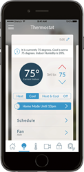 Carrier Cor Home Automation mobile app