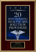 Telmediq's healthcare communications hub wins the CIOReview's award for 20 Most Promising Healthcare Solution Providers in 2017.