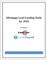 Cover image of the 2016 Mortgage Leads Study