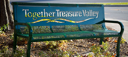 Together Treasure Valley Bench Project