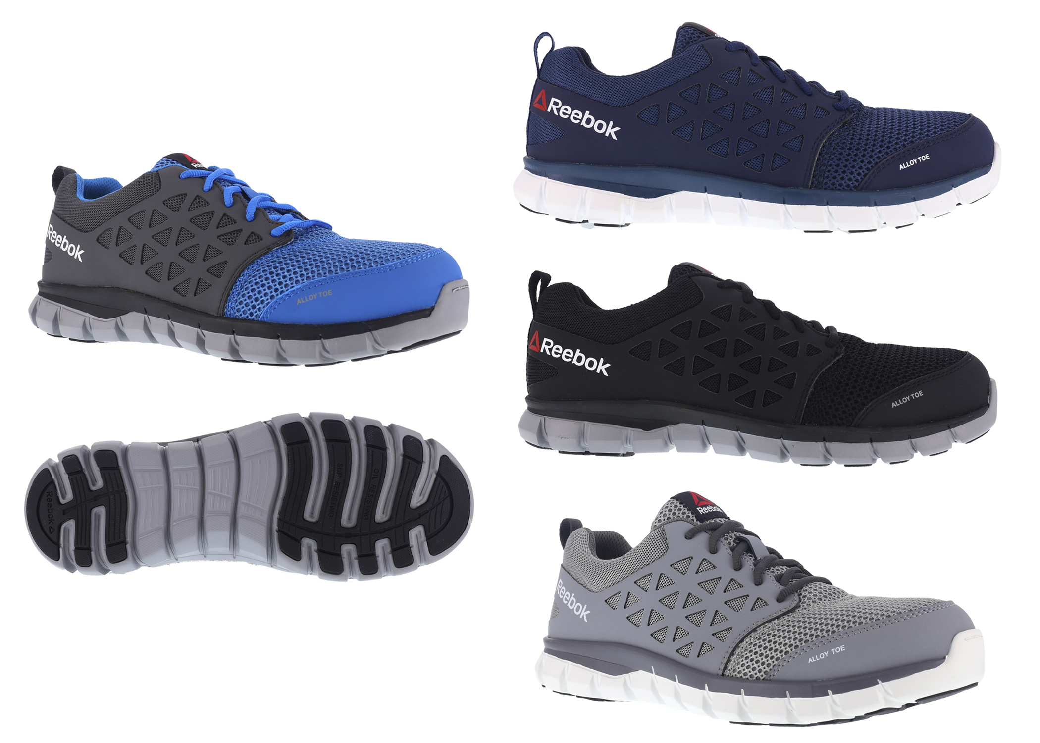 681ed8bee28909 New Reebok Sublite Cushion Work brings lightweight cushioning to work  footwear