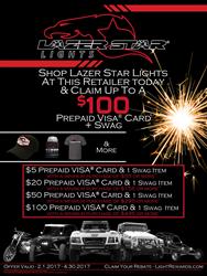 Lazer Star Rebate Poster