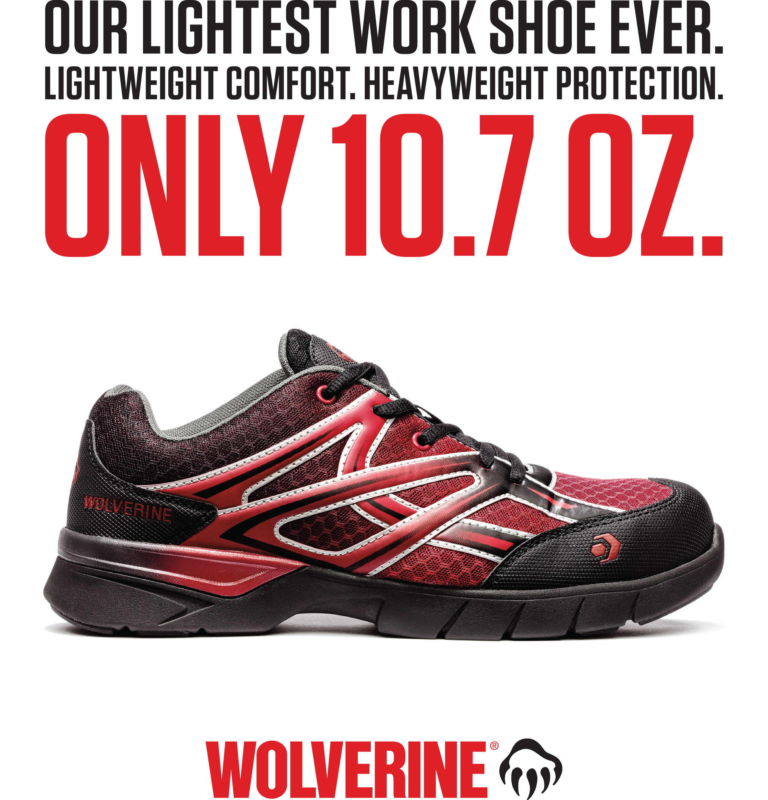 Lightest Safety-Toe Work Shoe Ever