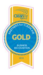 2016 Clean Air Gold Award