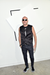 Poet Jimmy D Robinson at Art Basel in Miami Beach, Florida. Photo by Mike Coppola/Getty Images
