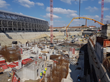 Meeting the deadline: Located close to the Danube River, the Magyar Telekom home needed a robust waterproofing solution for the high groundwater situation encountered at the construction site.