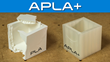 APLA+ is substantially tougher than PLA