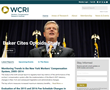 WCRI Launches Redesign of Website with New Logo
