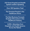 Becker's Healthcare to host their largest conference with over 3,000 attendees at The Becker's Annual Meeting on April 17-20, 2017 in Chicago, IL.