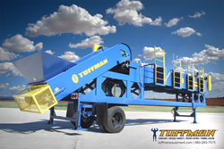 Tuffman® 8-Man HD-P Portable Sorting Station