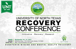 Life of Purpose Treatment presents the University of North Texas 5th Annual Recovery Conference
