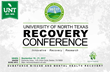 5TH Annual University of North Texas Recovery Conference Hosts Eminent Speakers