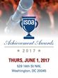 Join ISOA for the 2017 Achievement Awards Event on June 1 at the National Press Club