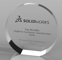 SOLIDWORKS Customer Satisfaction Award
