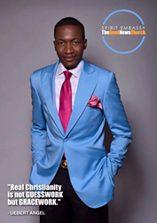 "UN Peace Ambassador Uebert Angel, founder of ""The Millionaire Academy"", and the founder of Osbourne Institute of Theology"