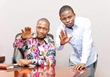 Prophet Uebert Angel and his spiritual son, Prophet Shepherd Bushiri (Major1).