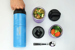 ICONIQ Qore Food Container Launching on Kickstarter