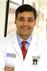[image of Dr. Anurag Singh, Roswell Park Cancer Institute]