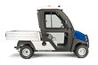 The new cab features ROPS certification, seat belts, a plug-and-play wiring system, and door locks that match the ignition system.