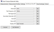 Setting Test Parameters Via Bluetooth