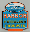 Harbor Petroleum Products Porcelain Sign, Estimated at $50,000-80,000.