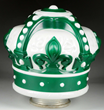 Standard Oil of Indiana Green Crown OPC Globe, Estimated at $2,000-4,000.