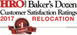 MSI wins 1st place in HRO Today Magazine's 2017 Baker's Dozen: Relocation Award