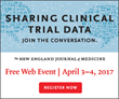 The New England Journal of Medicine Hosts Summit To Explore Potential of Clinical Trial Data Sharing