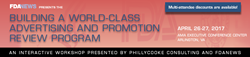 Advertising and Promotion Workshop