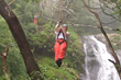 Zipline Tour from San Jose Over Waterfalls