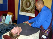 Physical healing also takes place at VOL.