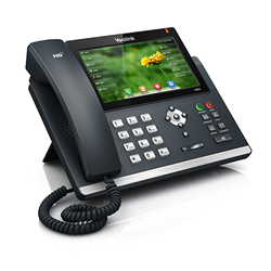 Ultra-elegant Gigabit IP Phone SIP-T48S